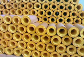 GLASS WOOL PIPE